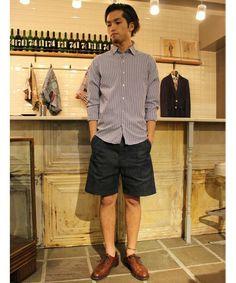 417 by EDIFICE新宿店|417 by EDIFICE新宿店さんのシャツ・ブラウスを使ったコーディネート - ZOZOTOWN