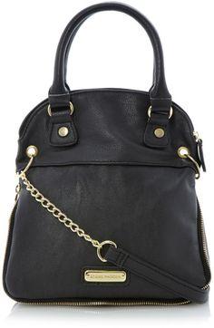 dff2028a74 Steve Madden Cross Body Handbags | Steve Madden Bmaxini Zip Detail Cross  Body Bag in Black
