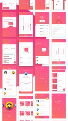 Matta - Material Design Mobile UI Kit on Behance