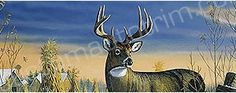 Deer Rear Window Graphics & Back Window Decals