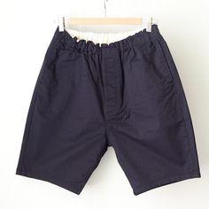 【Men's&Ladies'】ordinary fits オーディナリーフィッツ Travel shorts : navy トラベルショーツ ネイビー