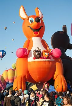 Albuquerque Hot Air Balloon | Albuquerque International Balloon Fiesta | Amazing hot-air balloons ...