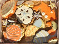 clambake sugar cookies, by designer, Sweet Dani B