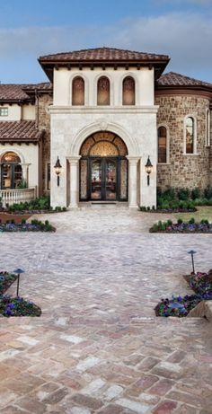 Santa barbara multi family residential architecture on for Texas mediterranean style homes