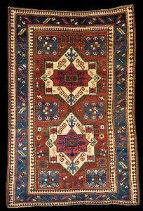 Antique Kazak Fachralo rugs, Fachralo Kazak rugs