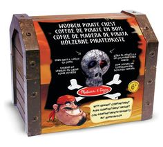 Buy Melissa and Doug Pirate Chest at Argos.co.uk, visit Argos.co.uk to shop online for Children's fancy dress accessory sets, Children's fancy dress, Role play, Toys