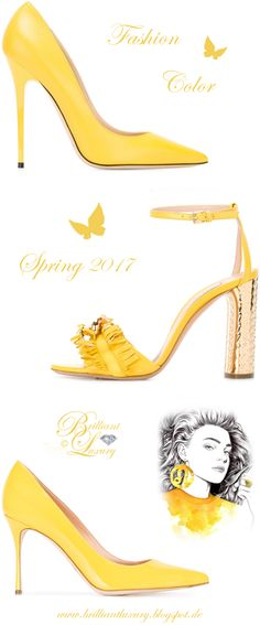 Brilliant Luxury by Emmy DE ♦ Fashion Color Spring 2017 ~ primrose yellow