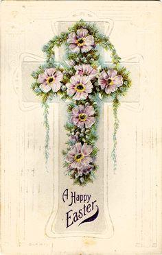 #Easter #antique #cross #1920