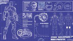Iron Man Arc Reactor Blueprints | iron man, blueprint - 1600x900px