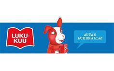 Lukukuu-passissa ja tarroissa esiintyy taiteilija Julia Vuoren luoma Reddie-koira