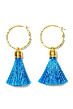 Suzywan Deluxe Tanya Tassel Earrings