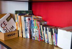Hugo Restaurant, Bookends, Bookcase, Shelves, Home Decor, Cosmopolitan, Shelving, Homemade Home Decor, Book Shelves