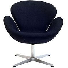 Wing Lounge Chair Wing Lounge Chair in Black