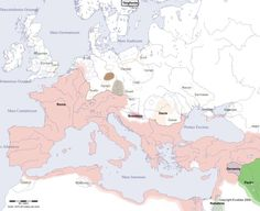 Here are some maps showing how Europe changed every century for the past years. You'd see a lot of changes when looking at a map of present day Europe and comparing it to a 30 year old one. European History, World History, Ancient History, Ancient Rome, Ancient Art, Art History, Map Symbols, Templer, Old World Maps