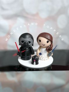 Star Wars Cake Toppers, Snow Globes