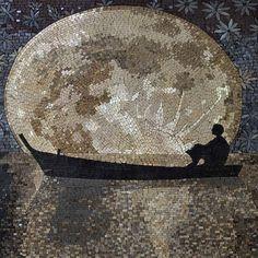 Man gazing at the moon #mosaic #mozaico #mosaicart #landscapeart #landscape #moon #moongazing #instadecor #instainterior #instadesign #decoroftheday #designoftheday #mosaicartist #decorinspiration #designinspiration #designlovers #artlover #artoftheday #a by Phoenician Arts, via Flickr