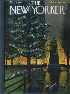 The New Yorker - Saturday, December 5, 1959 - Issue # 1816 - Vol. 35 - N° 42 - Cover by : Arthur Getz