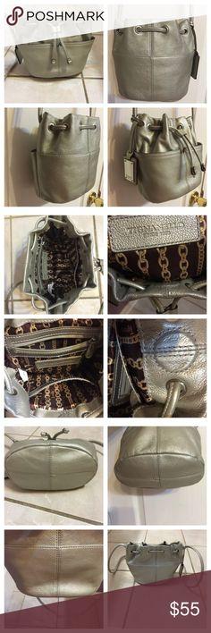 Spotted while shopping on Poshmark: ***Tignanello***Silver Buckle CrossBody HandBag! #poshmark #fashion #shopping #style #Tignanello #Handbags