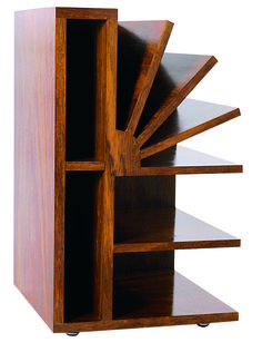 Brazilian architect Gregori Warchavchik designed this masterpiece for his home in Sao Paolo in The magazine rack 'Leque' is made out of polished Imbuia wood and has been re-edited. Art Deco Furniture, Funky Furniture, Furniture Styles, Wood Furniture, Furniture Design, Decoration, Art Decor, Home Decor, Wood Projects