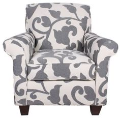 Homemakers Furniture: Accent Chair: Corinthian Inc. Chair And Ottoman, Wingback Chair, Armchair, Homemakers Furniture, Corinthian, Canterbury, Ottomans, Industrial Furniture, Room Chairs