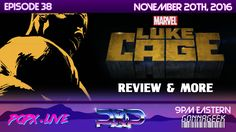 """This week, we have an open discussion about Marvel's latest show series on Netflix, """"Luke Cage."""" Team POPX Joe, Austin and Lindsay dives into their own thoughts as we share some little known facts and Easter Eggs from the 13 part series."""