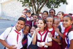 School children in Havana, Cuba.