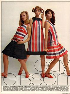 70s Vintage Fashion, 60s And 70s Fashion, Vintage Clothing, Retro Vintage, 1960s Dresses, 1960s Outfits, Vintage Outfits, Colleen Corby, Seventeen Magazine