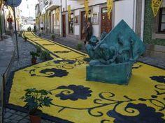 Tapetes floridos da Romaria Nossa Senhora D'Agonia, Viana do Castelo, Portugal