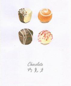 Chocolate truffes.