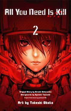 コミックナタリー - 小畑健「All You Need Is Kill」1・2巻と、原作新装版が同発