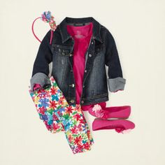 chica - trajes - jegging joyas - Daisy Do | Ropa para niños | Ropa para Niños | lugar de los niños