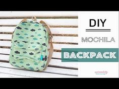 Nairamkitty Backpack - Free pattern and tutorial Backpack Tutorial, Diy Backpack, Backpack Pattern, Fashion Backpack, Diy Mochila, Mochila Tutorial, Jean Diy, Diy Purse, Fabric Bags