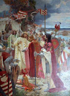 "pacta conventa 1102. The Croatian nobles allegedly concluded the Pacta conventa with King Coloman before his crowning as the Croatian king in Biograd The Hungarian king offered ""an agreement as pleases them"" to the twelve noble Croatian tribes from the families of Kačić, Kukar, Šubić, Snačić, Polečić, Mogorović, Gušić, Čudomerić, Karinjanin and Lapčan, Lisničić, Jamometić and Tugomerić"