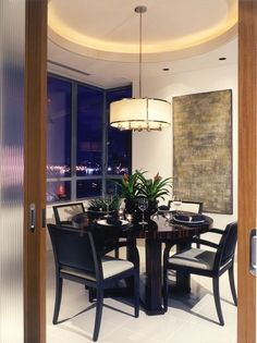 cylinder yellow pendant of Lighting to Pamper You in Dining Room