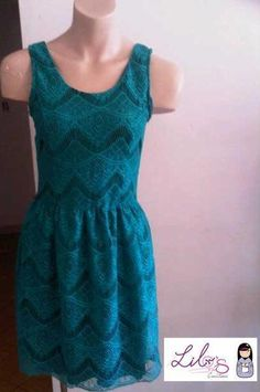 Vestido de Encaje- Colección Invierno 2012