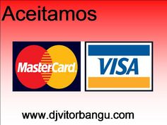 Agora recebemos também por Cartões de crédito. Aproveite