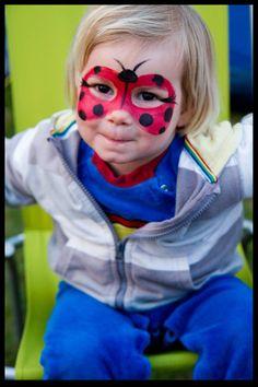 ladybug face paint