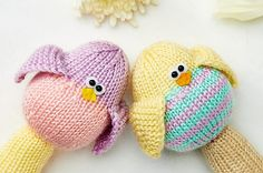 What's that cheeping? Must be our Birdie Rattles! From issue 49 of LGC Knitting & Crochet - on sale 8th March!