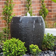 """Water Features Direct on Instagram: """"Hand crafted and ethically sourced... our beautiful Gentong package as seen on #theblock2020 ... #neilwhittaker may not have liked it but…"""" Patio Fountain, Water Features, Garden, Plants, Beautiful, Instagram, Water Sources, Garten, Lawn And Garden"""