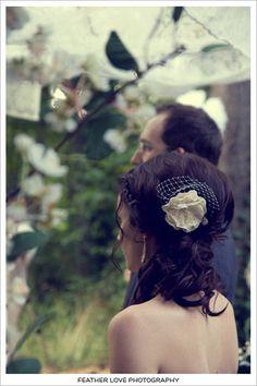 pretty bride hair! @Alissa Anaya @Gina Taylor @Natalie