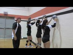 Volleyball Setting Drill Wall Ball - creating different distances>>>>>this is awesome Volleyball Training, Volleyball Gifs, Volleyball Skills, Volleyball Practice, Volleyball Setter, Volleyball Outfits, Volleyball Workouts, Coaching Volleyball, Volleyball Pictures