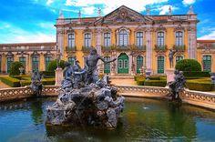 Palácio de Queluz, Lisboa, Portugal http://aguiaturistica.blogspot.pt/