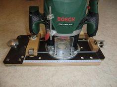 Adapterplatte für die Oberfräse ...die 2. Bauanleitung zum selber bauen Selber machen