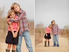 Brother and sister cuteness Brother Sister Poses, Brother Sister Photography, Sibling Photography, Photography Pics, Children Photography, Sibling Photo Shoots, Sibling Photos, Sister Photos, Family Photos