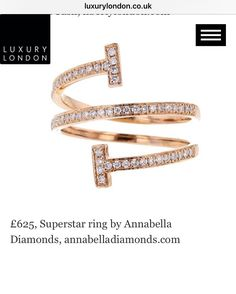 Our Superstar Diamond Ring featured today in Luxury London's Must Have Jewellery Guide for Christmas 2017. http://www.luxurylondon.co.uk/article/a-white-diamond-christmas-fine-jewellery-gifts-festive-season