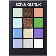 Sonia Kashuk Eye Couture - Eye on Glamour ($20) ❤ liked on Polyvore featuring beauty products, makeup, eye makeup, eyeshadow, sonia kashuk, palette eyeshadow and sonia kashuk eyeshadow
