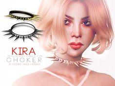 Sims 4 CC's - The Best: Kira Choker by Pralinesims