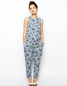 Jack Wills Floral Jumpsuit
