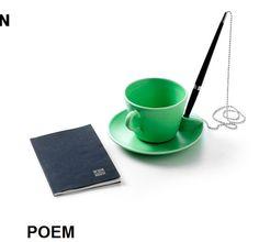 Poem Cup mit Stifthalter