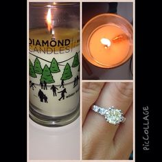 Diamond Candles - there's a ring in each candle to collect after it's finished!